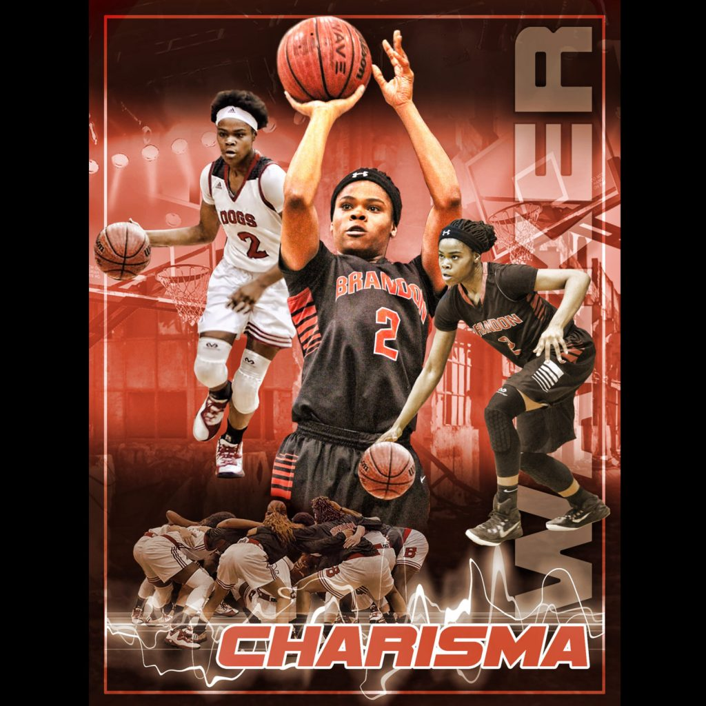 Custom Basketball Collage Poster